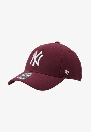 NEW YORK YANKEES - Keps - dark maroon
