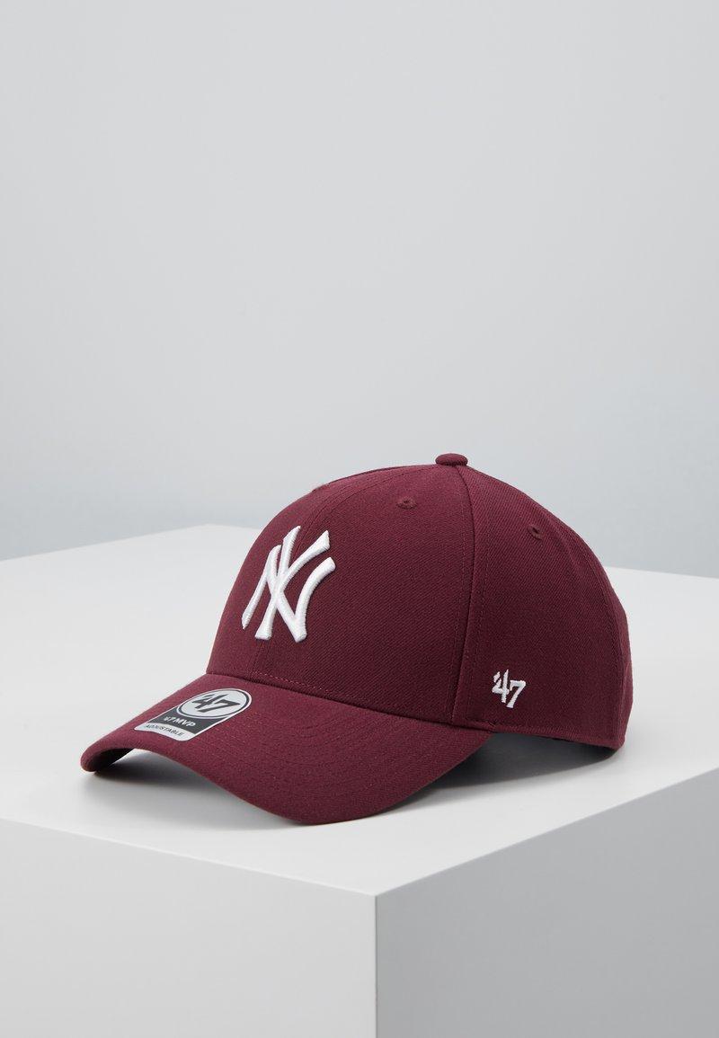'47 - NEW YORK YANKEES - Czapka z daszkiem - dark maroon