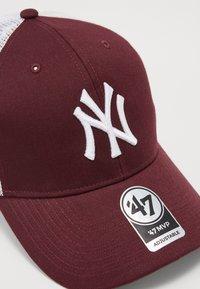 '47 - NEW YORK YANKEES BRANSON - Caps - dark maroon - 6