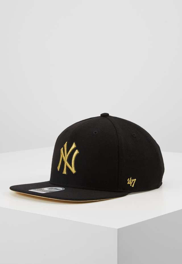 NEW YORK YANKEES METALIVISE - Lippalakki - black