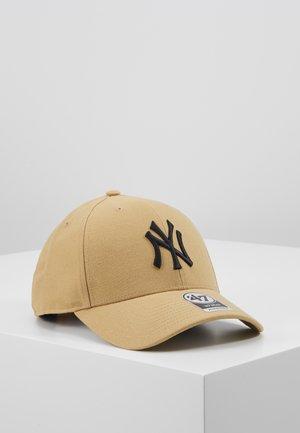 NEW YORK YANKEES - Kšiltovka - old gold