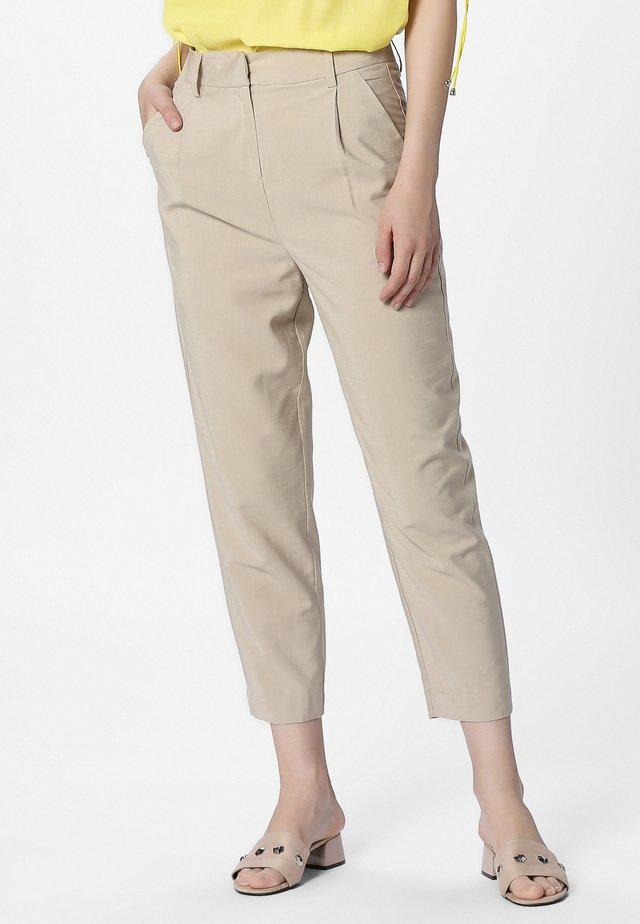 Pantalon classique - nude