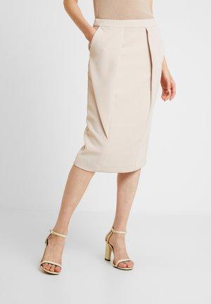 SKIRT - Falda de tubo - nude