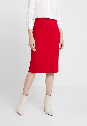 SKIRT - Jupe crayon - red
