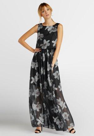 AUS CHIFFON - Robe de soirée - black-champagner