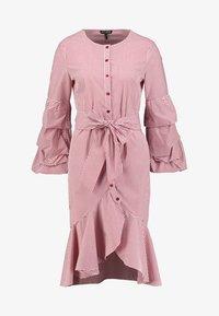 Apart - STRIPED DRESS - Robe chemise - red/cream - 6