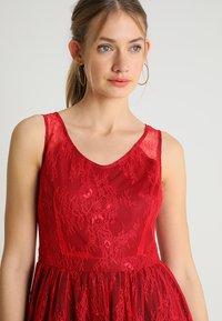 Apart - DRESS - Robe de soirée - coral-burgundy - 3