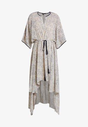 PRINTED DRESS - Maxi šaty - stone/multicolor