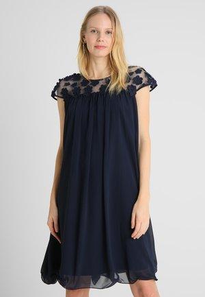 DRESS WITH FLOWERS - Robe de soirée - midnight blue