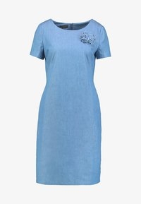 Apart - DRESS - Robe en jean - blue denim - 4