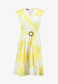Apart - PRINTED DRESS - Robe de soirée - cream/yellow - 4