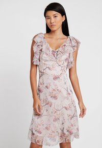 Apart - PRINTED DRESS - Robe de soirée - powder multicolor - 0