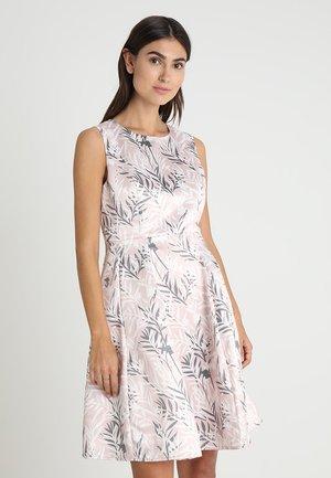 PRINTED DRESS - Robe de soirée - powder
