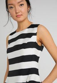 Apart - STRIPED DRESS - Robe de soirée - black/cream - 3