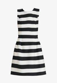 Apart - STRIPED DRESS - Robe de soirée - black/cream - 5