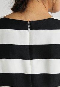 Apart - STRIPED DRESS - Robe de soirée - black/cream - 6