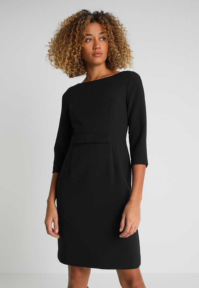Apart - DRESS WITH BOW - Cocktailkjoler / festkjoler - black