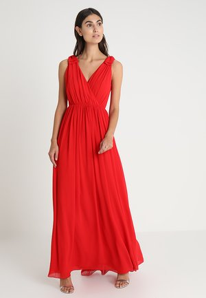WITH BOWS - Robe de cocktail - red