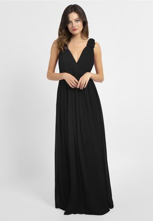 WITH BOWS - Robe de cocktail - black