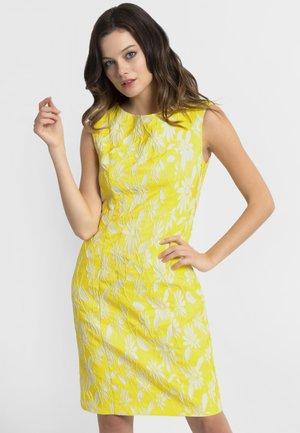 APART - Korte jurk - yellow