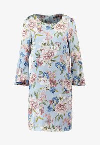 Apart - PRINTED DRESS - Robe d'été - light blue