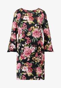 Apart - PRINTED DRESS - Robe d'été - black - 4