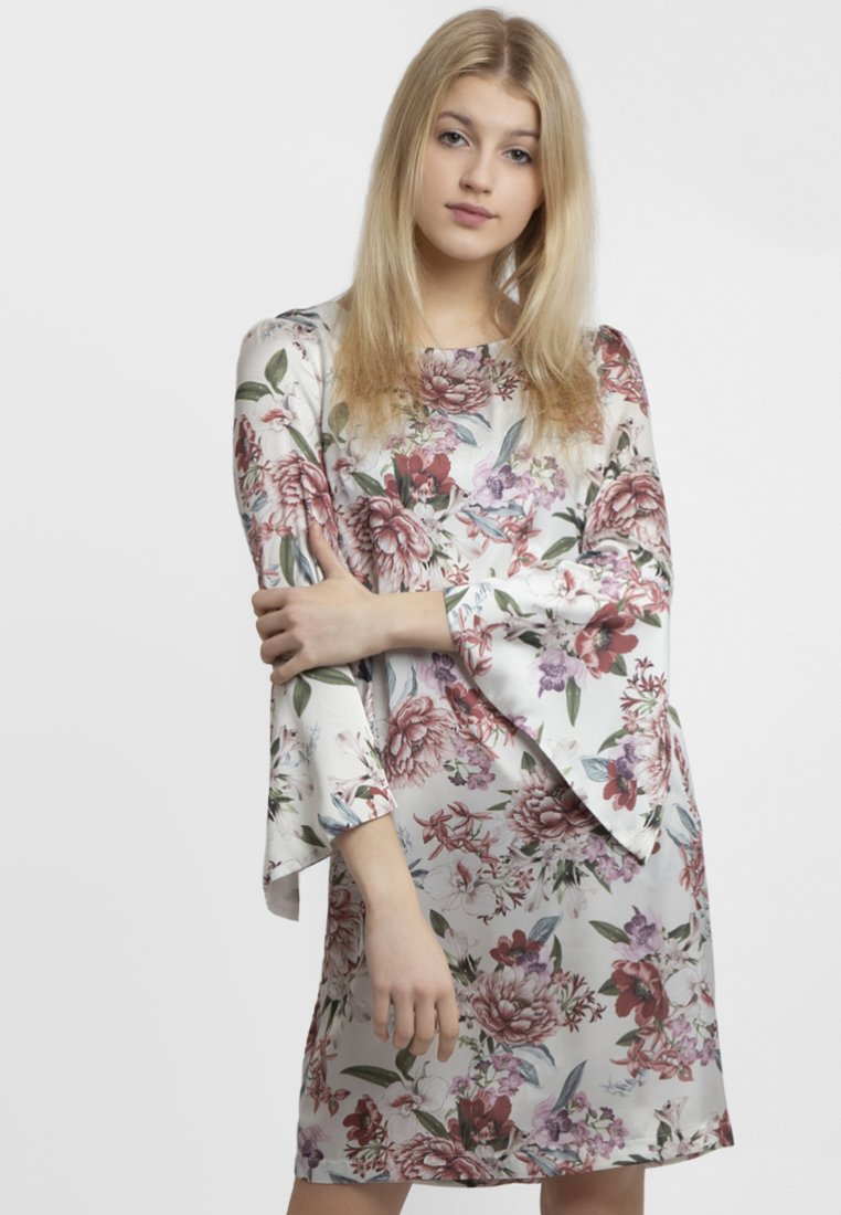 Apart - PRINTED DRESS - Robe d'été - cream