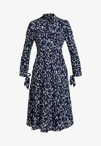 Apart - PRINTED DRESS - Robe d'été - midnightblue/cream - 4