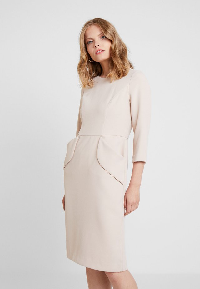 DRESS - Sukienka koktajlowa - nude
