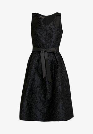 DRESS WITH BOW - Koktejlové šaty/ šaty na párty - black
