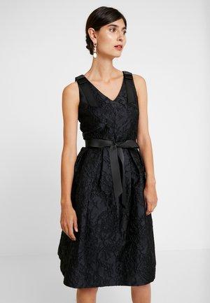 DRESS WITH BOW - Robe de soirée - black