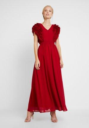 DRESS - Galajurk - lipstick red
