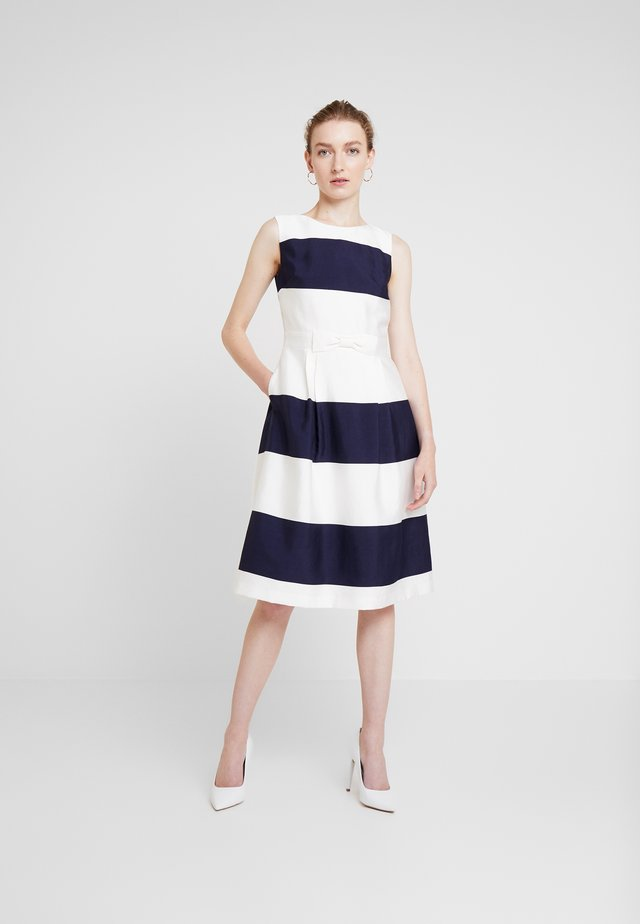 Cocktail dress / Party dress - midnightblue-cream