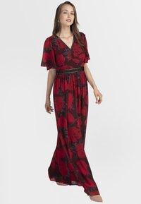 Apart - Robe longue - red/black - 0