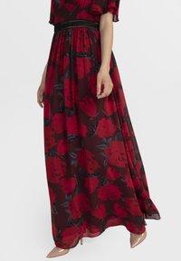 Apart - Robe longue - red/black - 3
