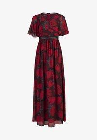 Apart - Robe longue - red/black - 4