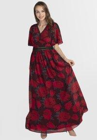 Apart - Robe longue - red/black - 1