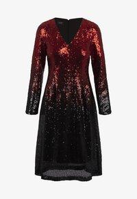 Apart - Sukienka koktajlowa - red/black - 4