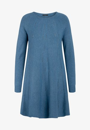 Robe pull - jeans blue