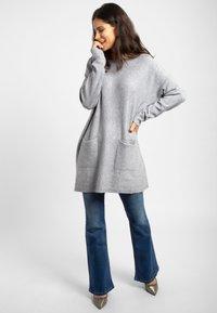 Apart - Robe pull - grey - 1