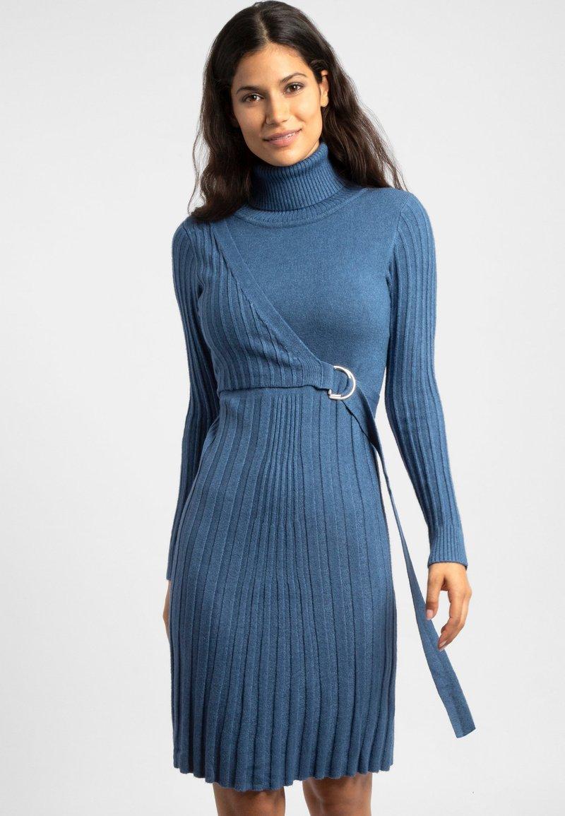 Apart - Jumper dress - blue
