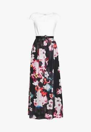 PRINTED DRESS - Vestido largo - black/multicolor