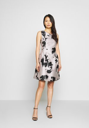 Cocktail dress / Party dress - powder/black