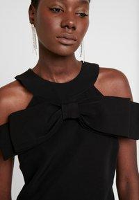 Apart - DRESS WITH BOW - Robe de soirée - black - 4