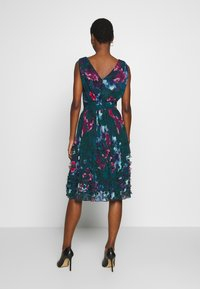 Apart - EMBROIDERED DRESS - Robe de soirée - petrol/multicolor - 2