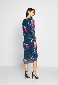 Apart - PRINTED DRESS - Robe en jersey - petrol/multi-coloured - 2