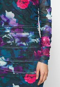 Apart - PRINTED DRESS - Robe en jersey - petrol/multi-coloured - 5