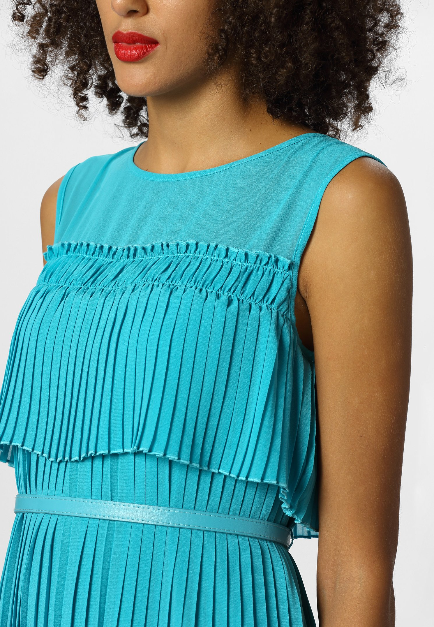 Apart Robe Longue - Turquoise LYtHrMk