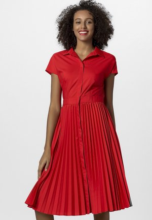 Robe chemise - red