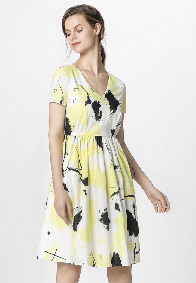 Sukienka letnia - vanille multicolor